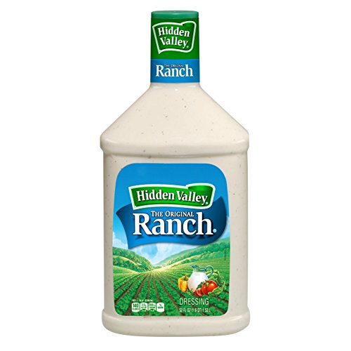 Hidden Valley Original Ranch Salad Dressing & Topping, Gluten Free - 52 Ounce Bottle