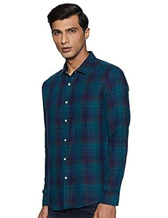 Amazon Brand - Inkast Denim Co. Men's Slim Fit Casual Shirt