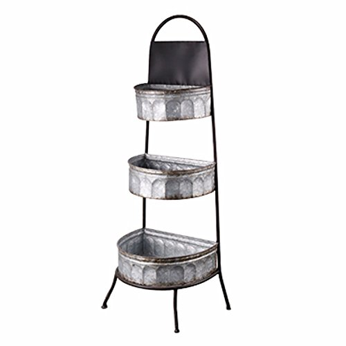 Dimensionally Rustic Fayette 3-Bin Storage - Shopping La Fayette