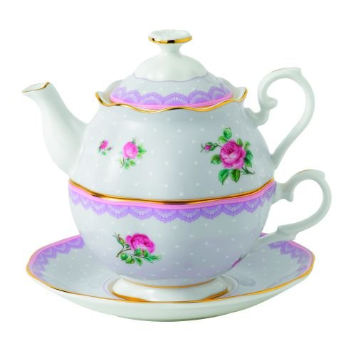 Royal Albert Love Lilac Tea For One- 16.6 oz (Gifts Royal Albert)