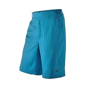 Nike Men's Nadal Long Check Shorts, Blue, XL