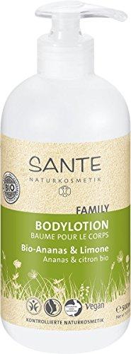 Sante Naturkosmetik Bodylotion Bio Ananas und Limette 500ml, 1er Pack (1 x 500 ml)