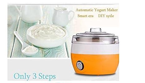 Amazon.com: 220 V Homemade automática yogurtera eléctrica ...