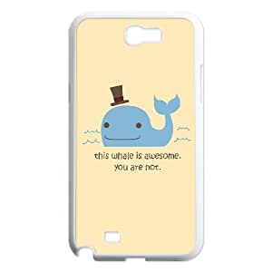 DIY Simple Style Phone Case Fit To Samsung Galaxy Note 2 N7100 , Good Choice For Your Phone