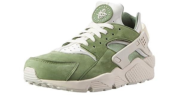 designer fashion a128c 64200 Amazon.com   Mens Nike Air Huarache Run Premium Treeline Light Bone Bamboo  704830-300 US 13   Shoes