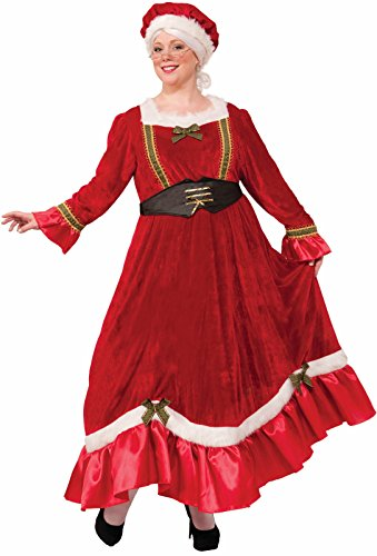 Costumes For Larger Women (Forum Novelties Women's Plus Size Mrs. Claus Costume, Multi, XXX-Large)
