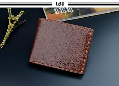6d2401bced8e Amazon.com: Yatntnpy Top 2018 Vintage Men Leather Brand Luxury ...