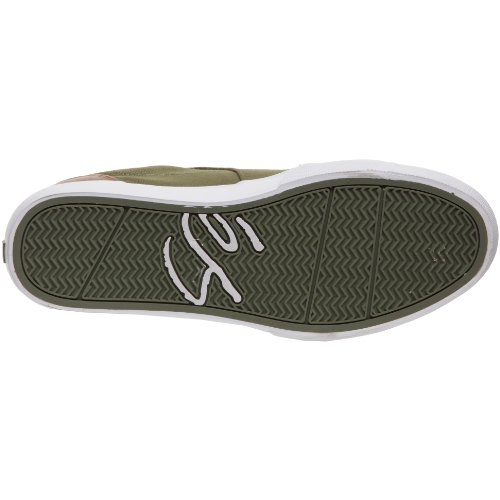 éS HOLBROOK LO 5101000115, Unisex - Erwachsene Sportschuhe - Skateboarding Grün/Olive/White