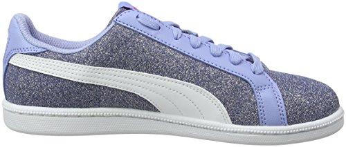 02 White puma Enfant Sneakers Glamm Bleu Glitz twilight Mixte Jr Puma Basses Smash Blue Tw7qBO