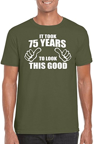 Novelty Gifts Herren T-Shirt, Logo grün military green