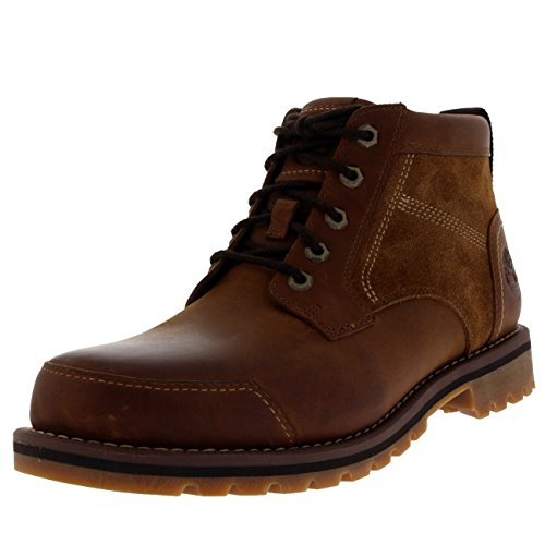 Timberland Mens Larchmont Chukka Brown Leather Boots 9.5 US