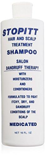 Stopitt Hair and Scalp Treatment Shampoo, 16 Ounce by Stopitt