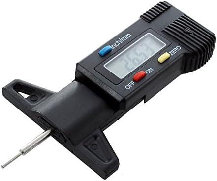 Refurbishhouse Digital Tiefenmesser Messchieber Profiltiefenmesser Lcd Reifen Profilmesser Auto