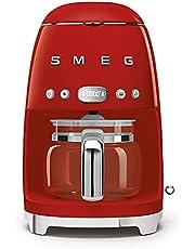 SMEG DCF02RDEU | Filterkoffiezetapparaat Jaren '50 | Kleur : rood