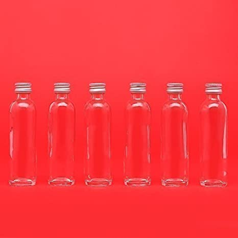 10 botellas vacías de vidrio de 20 ml o 40 ml botellas de vidrio vacías botellas