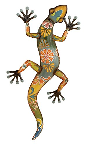 Deco 79 Metal Lizard, 32 by 15