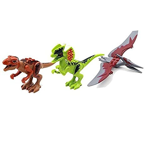Amazon.com: 8 Pcs Dinosaurios Tyrannosaurus Rex en Jurassic ...