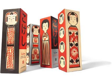 Uncle Goose: Kokeshi Doll Wooden Blocks