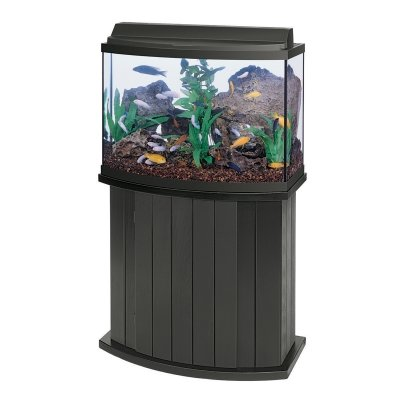 36bf All Glass Aquarium AAG55003 Pine Cabinet