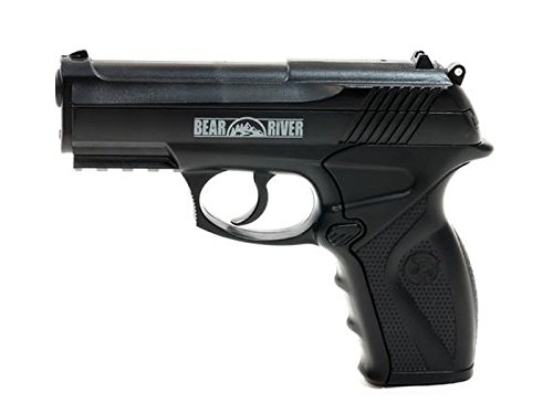 Bear River Boa BB Pistol - CO2 Semi Auto BB Gun - .177 Cal 4.5mm Ammo ()