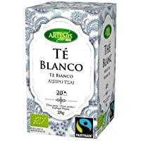 Artemisbio Te Blanco Fair Trade Eco Bolsitas 20