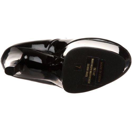Platform Women's Pleaser Black Patent Sky 387 Pump qd7tWS