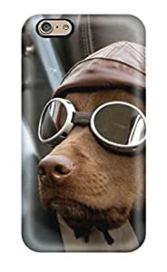 ABljQwt4207xYXUU Cool Dog In Action Fashion Tpu 6 Case Cover For Iphone