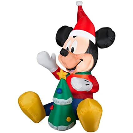 Amazon.com: Disney airblown inflable 3.5 ft. Mickey con ...