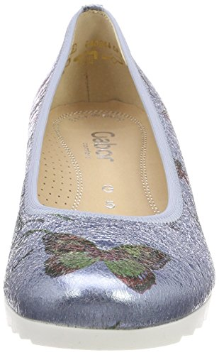 Gabor Shoes Mujer Jute Cielo Comfort para Bailarinas Azul Sport ppvqw