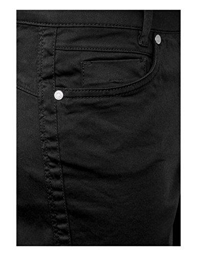 Yulius Pantalones Mujer Estrechos Negro Street Para black 10001 One wq567nCEx1