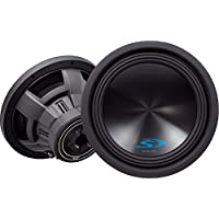 Alpine Type-S SWS-12D4-1500W Peak 12 Type-S Series Dual 4-Ohm High Performance Subwoofer (1Pair)
