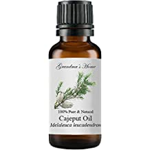 Grandma's Home Essential Oils - 100% Pure Therapeutic Grade (Cajeput, 10 mL)