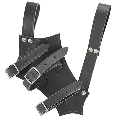 Chivalry Bridle Leather Black Sword product image