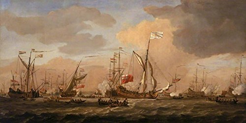 cutler-miles-the-mary-yacht-arriving-with-princess-mary-at-gravesend-12-february-1689-by-willem-van-