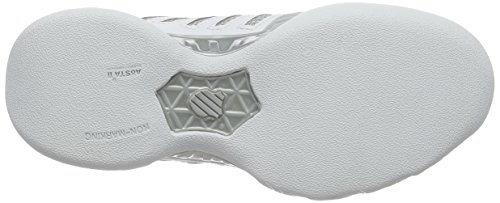 Tennis White Light Performance de Femme Chaussures Silver 3 Swiss K Blanc EU Bigshot Carpet WFqwtx8nPA