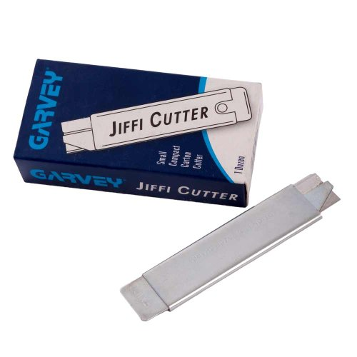 Garvey - Jiffi-Cutter Compact Utility Knife with Retractable Blade - Box of 12 (Garvey Box Cutter)