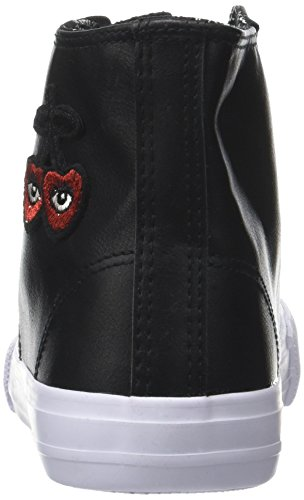 Origin Alto Sneaker a Donna Collo Heart des Le Heart Cerises High Nero Temps Black Black qxt81R