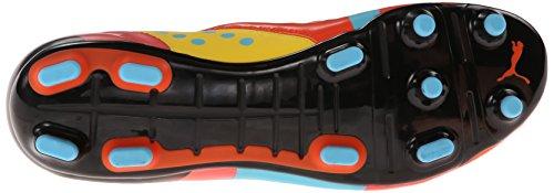 Puma Evopower 3 Graphic Hombre Naranja Piel Deportivas Zapatos Talla EU 43