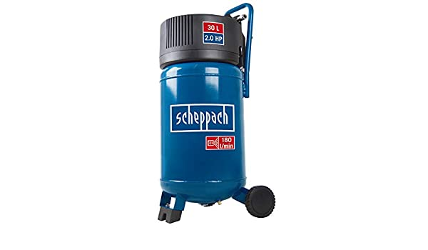 Scheppach 5906121901 Impresión Compresor De Aire hc30 V Plus 30 L Hervidor, impresión de trabajo: 10 bar, 1039 W, 230 V: Amazon.es: Bricolaje y herramientas