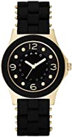 Marc Jacobs Pelly Gold and Black Dial Women's Watch MBM2540 by Marc Jacobs