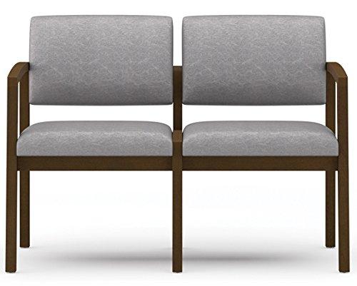 Lesro Lenox L2101G5 Two Seat Sofa fabric Seed finish Natural ()