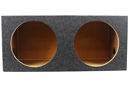 "Rockville Subwoofer Box Enclosure For 2) Rockford Fosgate P3D4-12 12"" Subwoofers"