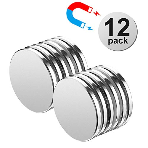 Rare 0.125 Magnets Earth - AFANTY Neodymium Magnets, 12 Pack Powerful Rare Earth Magnets, 1.26