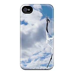 New Premium LumfinN2188wWkQd Case Cover For Iphone 5/5s/ Japanese Cranes Protective Case Cover