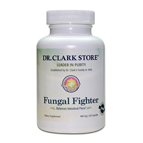 Dr. Clark Fungal Fighter Supplement - Intestinal Cleanse, 400mg, 120 ()