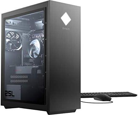 HP OMEN 25L Gaming Desktop PC, GeForce RTX 2060, 10th Gen Intel Core i7-10700F Processor, HyperX 32 GB RAM, 512 GB SSD and 1 TB Hard Drive, Windows 10 Home (GT12-0167C, 2020)