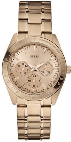 Guess W13101L1 Ladies MINI CHASE Rose Gold Watch ()