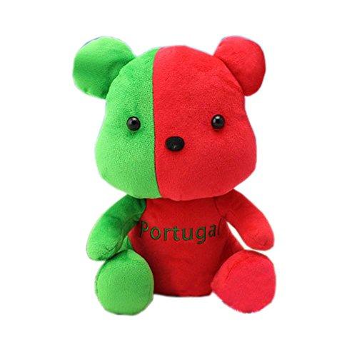 2016 Rio de Janeiro Olympic Mascot Flags Plush Toy Bear Souvenir, Portugal