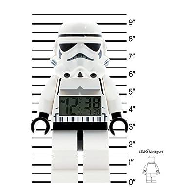 LEGO LEGO Star Wars Stormtrooper minifigure alarm clock (Model: 9002137): Clictime: Watches