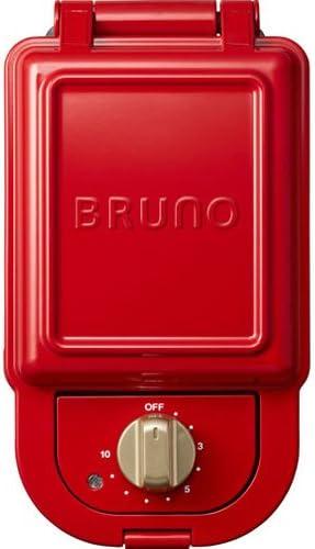 ブルーノ ホットサンドメーカー シングル BOE043-RD